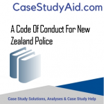 A CODE OF CONDUCT FOR NEW ZEALAND POLICE