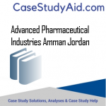 ADVANCED PHARMACEUTICAL INDUSTRIES AMMAN JORDAN