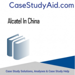 ALCATEL IN CHINA