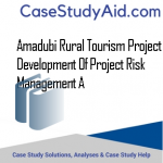 AMADUBI RURAL TOURISM PROJECT DEVELOPMENT OF PROJECT RISK MANAGEMENT A