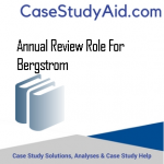 ANNUAL REVIEW ROLE FOR BERGSTROM