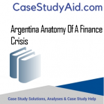 ARGENTINA ANATOMY OF A FINANCE CRISIS