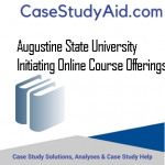 AUGUSTINE STATE UNIVERSITY INITIATING ONLINE COURSE OFFERINGS