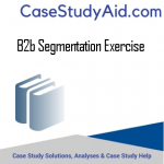 B2B SEGMENTATION EXERCISE