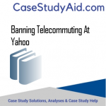 BANNING TELECOMMUTING AT YAHOO