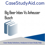 BIG BEER INBEV VS ANHEUSER BUSCH