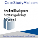 BRADFORD DEVELOPMENT NEGOTIATING A LINKAGE AGREEMENT
