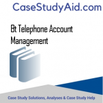 BT TELEPHONE ACCOUNT MANAGEMENT