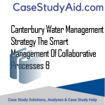 CANTERBURY WATER MANAGEMENT STRATEGY THE SMART MANAGEMENT OF COLLABORATIVE PROCESSES B