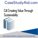 CDL CREATING VALUE THROUGH SUSTAINABILITY