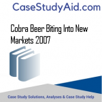 COBRA BEER BITING INTO NEW MARKETS 2007