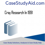 CRAY RESEARCH IN 1991