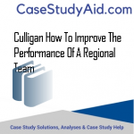 CULLIGAN HOW TO IMPROVE THE PERFORMANCE OF A REGIONAL TEAM