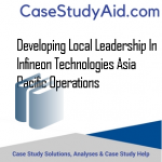 DEVELOPING LOCAL LEADERSHIP IN INFINEON TECHNOLOGIES ASIA PACIFIC OPERATIONS