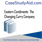EASTERN CONDIMENTS  THE CHANGING CURRY COMPANY