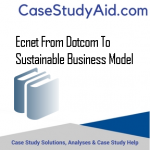 ECNET FROM DOTCOM TO SUSTAINABLE BUSINESS MODEL