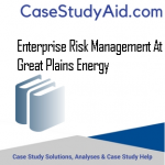 ENTERPRISE RISK MANAGEMENT AT GREAT PLAINS ENERGY