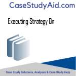 EXECUTING STRATEGY ON