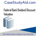 FEDERAL BANK DIVIDEND DISCOUNT VALUATION