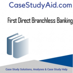 FIRST DIRECT BRANCHLESS BANKING