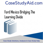 FORD MEXICO BRIDGING THE LEARNING DIVIDE