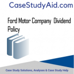 FORD MOTOR COMPANY  DIVIDEND POLICY