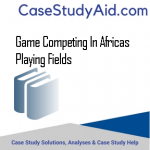 GAME COMPETING IN AFRICAS PLAYING FIELDS