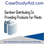 GARDNER DISTRIBUTING CO PROVIDING PRODUCTS FOR PLANTS  PETS