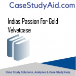 INDIAS PASSION FOR GOLD VELVETCASE