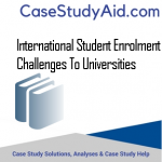 INTERNATIONAL STUDENT ENROLMENT CHALLENGES TO UNIVERSITIES