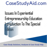 ISSUES IN EXPERIENTIAL ENTREPRENEURSHIP EDUCATION  INTRODUCTION TO THE SPECIAL EDITION