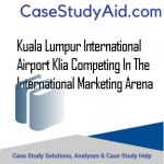 KUALA LUMPUR INTERNATIONAL AIRPORT KLIA COMPETING IN THE INTERNATIONAL MARKETING ARENA