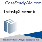 LEADERSHIP SUCCESSION AT