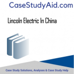 LINCOLN ELECTRIC IN CHINA