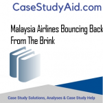 MALAYSIA AIRLINES BOUNCING BACK FROM THE BRINK