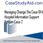 MANAGING CHANGE THE CASE OF A HOSPITAL INFORMATION SUPPORT SYSTEM CASE 2
