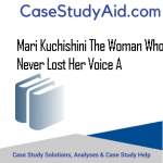 MARI KUCHISHINI THE WOMAN WHO NEVER LOST HER VOICE A