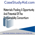 Materials Pooling A Opportunity and Potential of the Sustainability Consortium