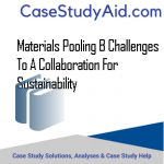 Materials Pooling B Challenges to a Collaboration For Sustainability