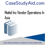 MATTEL INC VENDOR OPERATIONS IN ASIA