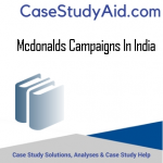 MCDONALDS CAMPAIGNS IN INDIA