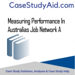 MEASURING PERFORMANCE IN AUSTRALIAS JOB NETWORK A