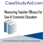MEASURING TEACHER EFFICACY FOR USE IN ECONOMIC EDUCATION