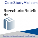 METERMATIC LIMITED MBO OR NO MBO