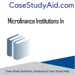 MICROFINANCE INSTITUTIONS IN