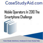 MOBILE OPERATORS IN 2010 THE SMARTPHONE CHALLENGE
