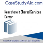 NEARSHORE IT SHARED SERVICES CENTER