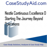NESTLE CONTINUOUS EXCELLENCE D STARTING THE JOURNEY BEYOND OPERATIONS