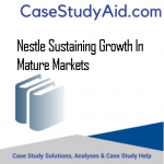 NESTLE SUSTAINING GROWTH IN MATURE MARKETS
