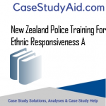 NEW ZEALAND POLICE TRAINING FOR ETHNIC RESPONSIVENESS A